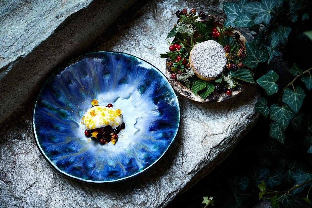 Pfannennudeln mit Moosbeeren und Vanille, Dessert aus der Rauchkuchl